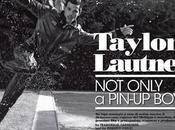 Bagnato Vogue: Taylor Lautner, backstage water