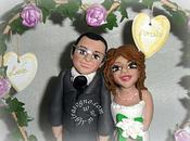 Cake topper snowboard cake country love cane