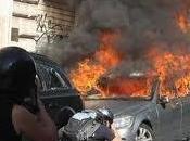 precaria macchina bruciata...