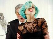 Lady Gaga come Marilyn Monroe Bill Clinton