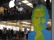 Tributo Steve Jobs fatto 4001 Post-it