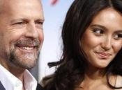 Bruce Willis aspetta primo figlio moglie Emma Heming