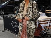 Star Style// Solange Knowles coat maculato Malene Birger