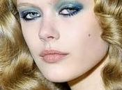 Make-up trend: peacock eyes