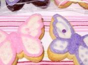Biscotti decorati glassa reale zucchero colorato