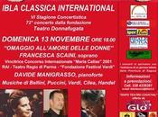 Inaugurazione Ibla Classica International 2011/2012