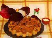#309 Torta salata autunnale (porri, zucca radicchio rosso)