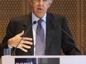 Mario Monti presidente consiglio Borsa sorride
