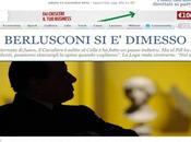 Silvio Berlusconi dimesso