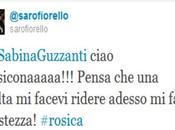 Fiorello Sabina Guzzanti, lite Twitter