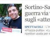 Sortino Santoro, Fiorello Guzzanti: scontri