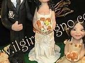 Cake topper matrimonio fatato ooak