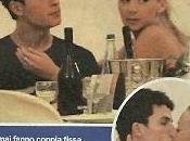 """Romantico bacio l'ex ballerina """"Amici"""" Valentina Mele figlio Michele Placido, Brenno."""