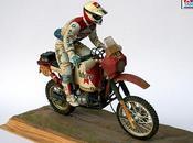 Diorama Gaston Rahier Paris-Dakar 1985 Sennake (Tamiya)