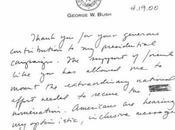 Grafologia: scrittura George Bush