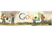 doodle Google celebrare Mark Twain