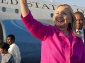 Hillary Clinton arrivata Birmania: prima visita segretario stato americano anni