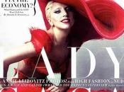 Lady Gaga's Romance Vanity Fair January 2012 Annie Leibovitz