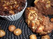 Muffin cioccolato frutta secca