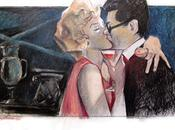 Dipinti baci cinematografici