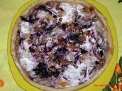 Ricetta saporita menù delle feste:Torta salata radicchio noci