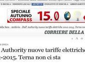 Authority Energia: nuove tariffe elettriche 2012-2015. Terna (Corriere.it)