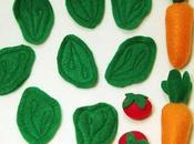 Regali Natale bambini: pentoline cibo feltro