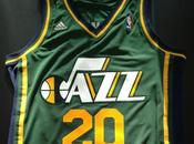 "Basket, Nba: Utah Jazz presentano terzo 2012 verde ispirato alla maglia ""road"" 1981/84"