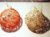 Palline corda l'albero Natale