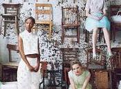SEASONS... Vogue January 2012 Shot Annie Leibovitz Models: Anais Pouliot, Sara Blomqvist, Xiao Frida Gustavsson,
