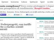 Tariffe Authority Energia: Federprogetti rischio 10mld investimenti (Corriere.it)