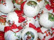 Palline polistirolo l'albero Natale
