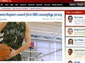 Basket, Nba: Toronto Raptors sono primo team giocherà divisa mimetica. Ecco prove!