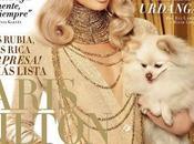 Paris Hilton dorata Vanity Fair Spagna Gennaio 2012
