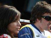 Fernando Alonso annuncia separazione moglie