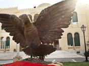 Benetton Donates Unhate Dove Sculpture Tripoli