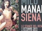 Milo Manara Stanze Desiderio, ultimi giorni vedere mostra Siena