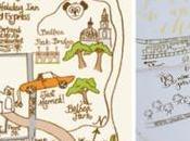 Mappe Cartine dare giuste indicazioni agli invitati raggiungere vostro banchetto matrimonio