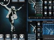 Michael Jackson Theme smartphone Nokia Symbian Anne Belle