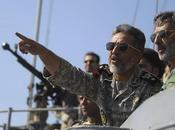 Iran/ Esercitazione Golfo. Lancio missili lungo raggio