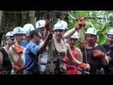 Canopy tour/Zip Line: video