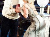 Capodanno: bacio Lady Gaga Michael Bloomberg