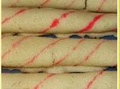 Regali Natale parte Candy-Stripe Cookie Stick