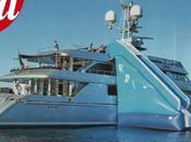 Yacht mega scivolo Dolce Gabbana