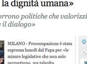 L'intolleranza domiciliata vaticano