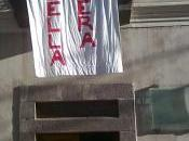 Rossella Urru: Casa Gramsci striscione abbattere l'indifferenza