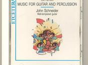 Recensione Harrison Music Guitar Percussion John Schneider, Etcetera Records 1990
