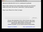 "Rilasciato ""Absinthe"", tool effettuare jailbreak untethered dell'iPhone iPad"