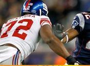 Football, Super Bowl: Patriots Giants maglia bianca. proprio super sequel 2008