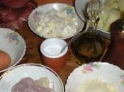 Torta salata speck, cavolfiore mozzarella